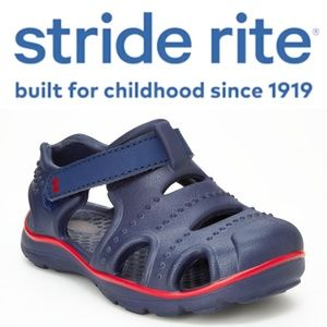🆕 Surprize by Stride Rite Toddler Navy Sandals